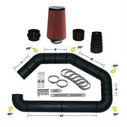 Airaid 101-301 U-Build-It Master Kit I Air Intake System, 3 Inch Tube