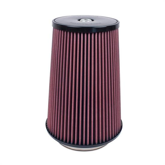 Airaid 700-032 SynthaFlow Air Filter, Red, 12in Tall, Tapered Conical