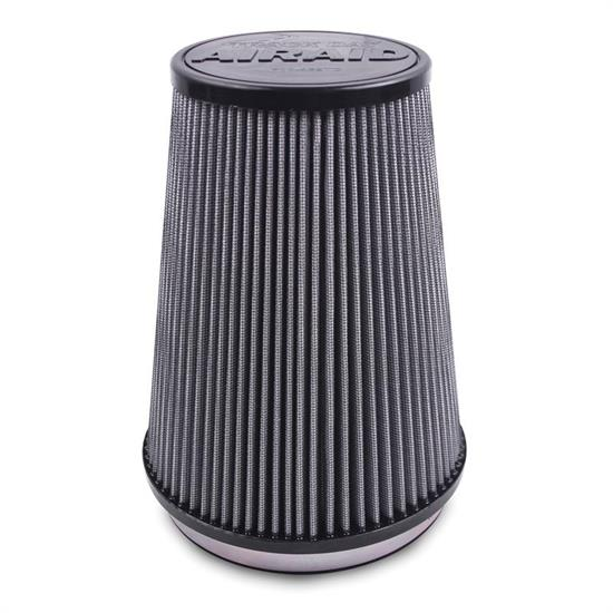 Airaid 700-420TD Racing Air Filter, Gray, 9in Tall, Tapered Conical