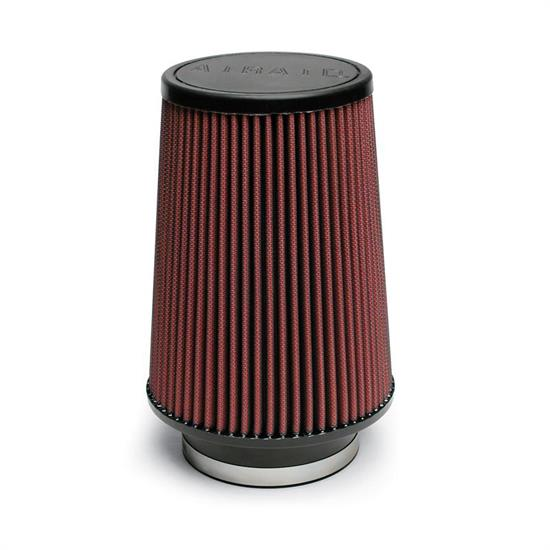 Airaid 700-422 SynthaFlow Air Filter, Red, 8in Tall, Tapered Conical
