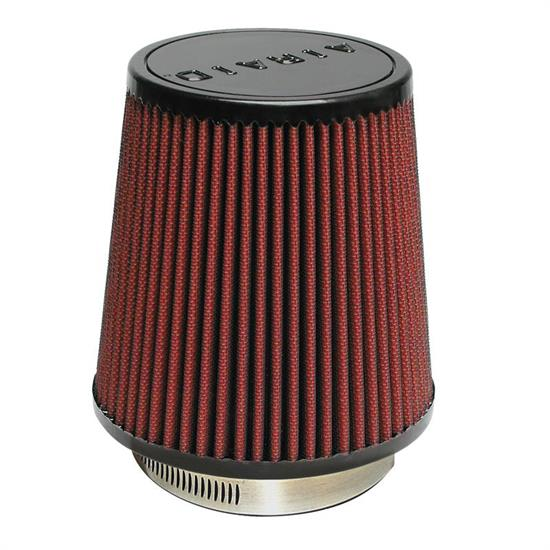 Airaid 700-452 SynthaFlow Air Filter, Red, 6in Tall, Tapered Conical