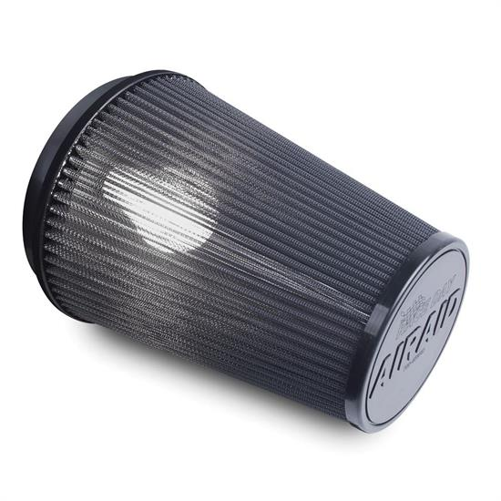 Airaid 700-455RD Race Day Air Filter, Gray, 6in Tall, Tapered Conical