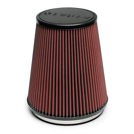 Airaid 700-461 SynthaFlow Air Filter, Red, 8in Tall, Tapered Conical