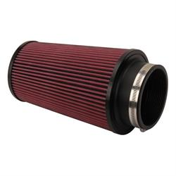 Airaid 700-470 SynthaFlow Air Filter, Red, 9in Tall, Tapered Conical