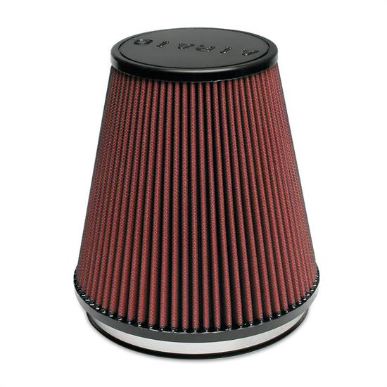 Airaid 700-495 SynthaFlow Air Filter, Red, 7in Tall, Round Tapered