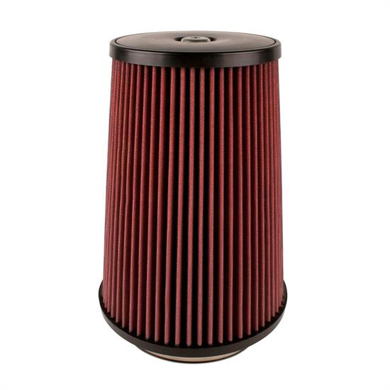 Airaid 700-499 SynthaFlow Air Filter, Red, 12in Tall, Round Tapered