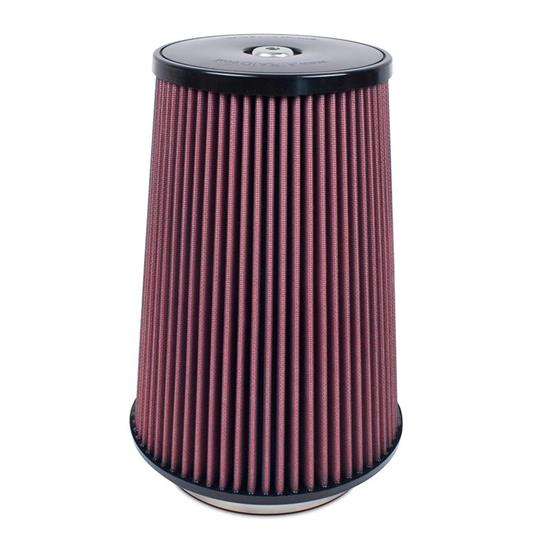 Airaid 701-032 SynthaMax Air Filter, Red, 12in Tall, Round Tapered