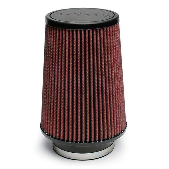Airaid 701-422 SynthaMax Air Filter, Red, 8in Tall, Round Tapered