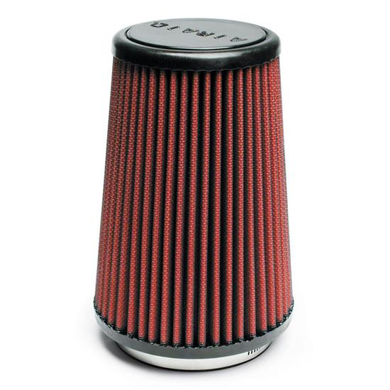 Airaid 701-430 SynthaMax Air Filter, Red, 7in Tall, Round Tapered