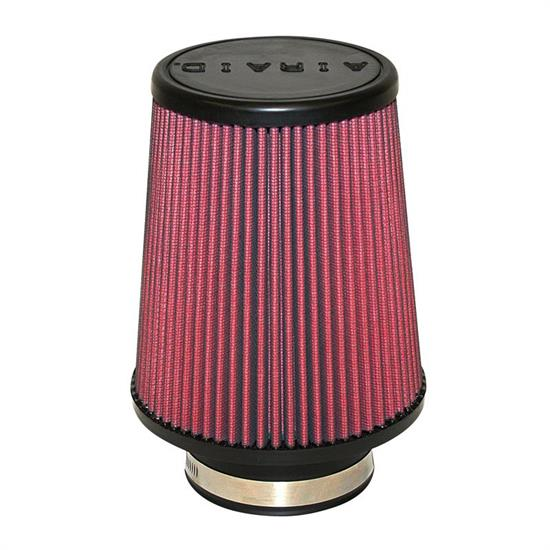 Airaid 701-451 SynthaMax Air Filter, Red, 7in Tall, Round Tapered