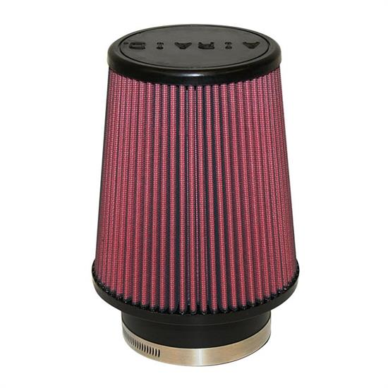 Airaid 701-456 SynthaMax Air Filter, Red, 7in Tall, Tapered Conical
