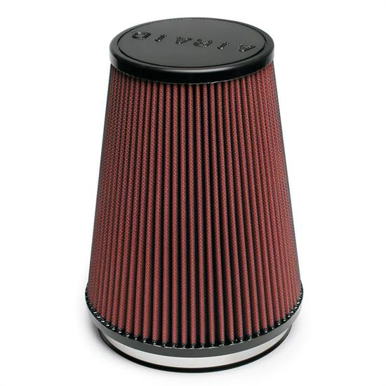 Airaid 701-469 SynthaMax Air Filter, Red, 9in Tall, Tapered Conical