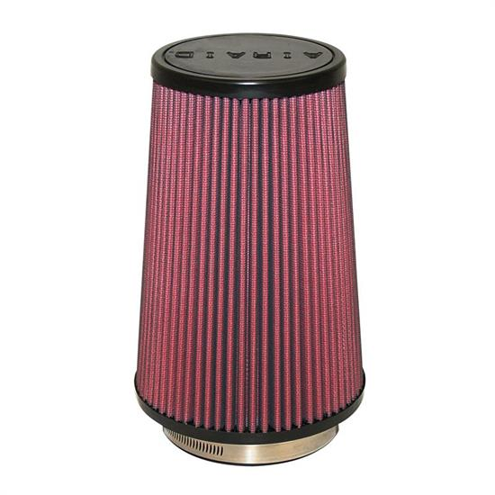 Airaid 701-471 SynthaMax Air Filter, Red, 9in Tall, Round Tapered