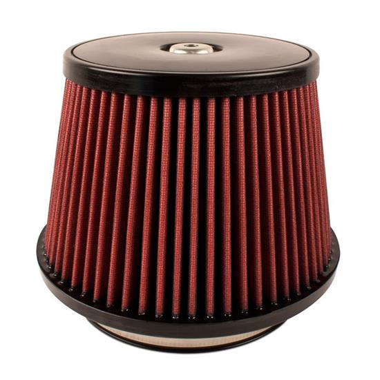 Airaid 701-497 SynthaMax Air Filter, Red, 6in Tall, Round Tapered