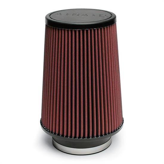 Airaid 701-539 SynthaMax Air Filter, Red, 6in Tall, Round Tapered
