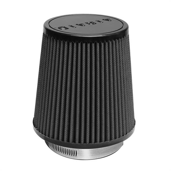 Airaid 702-452 SynthaMax Air Filter, Black, 6in Tall, Tapered Conical