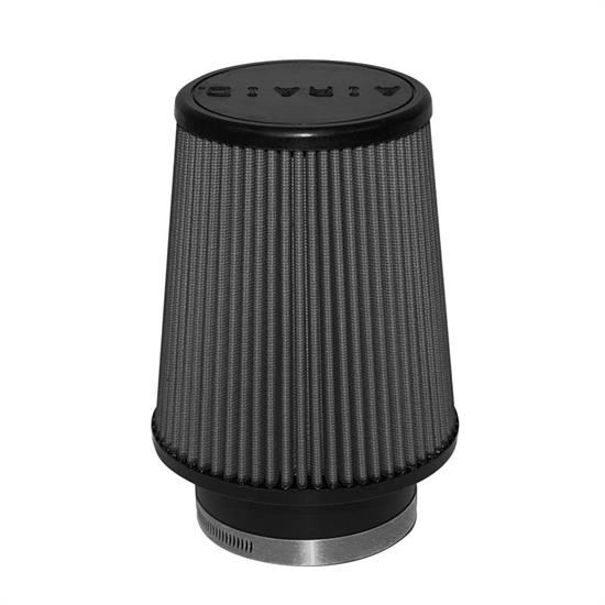 Airaid 702-456 SynthaMax Air Filter, Black, 6in Tall, Tapered Conical