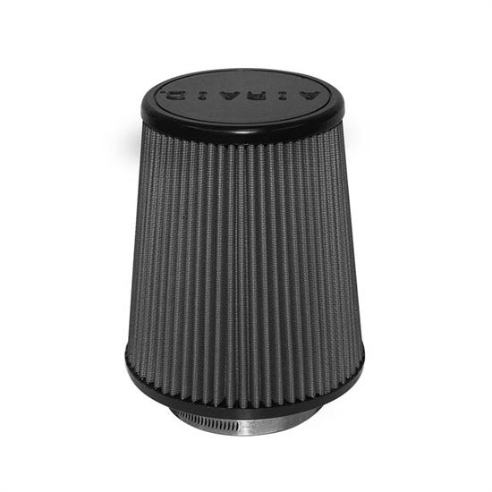 Airaid 702-457 SynthaMax Air Filter, Black, 7in Tall, Tapered Conical