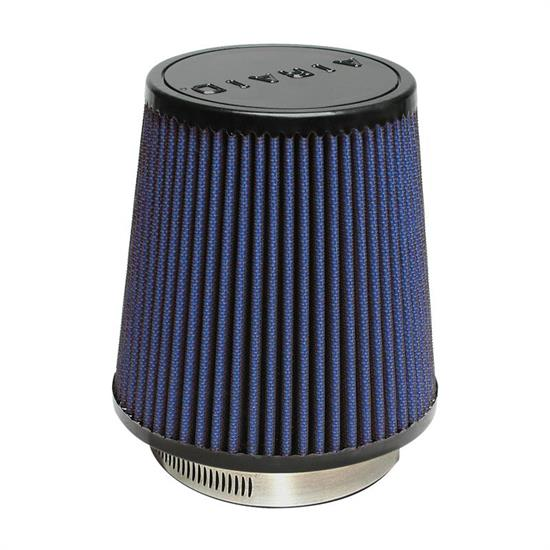 Airaid 703-452 SynthaFlow Air Filter, Blue, 6in Tall, Round Tapered