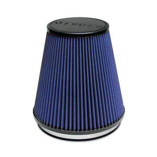 Airaid 703-495 Air Filter, Blue, 7in Tall, Tapered Conical