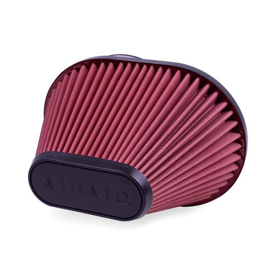 Airaid 721-473 SynthaMax Air Filter, Red, 6.5in Tall, Oval Tapered