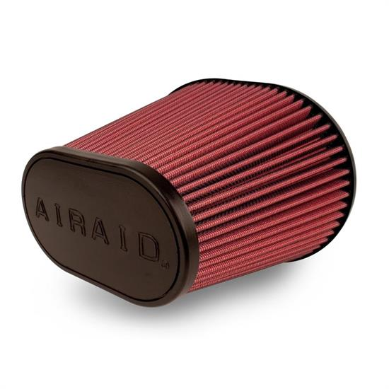 Airaid 721-479 Air Filter, Red, 7in Tall, Oval Tapered