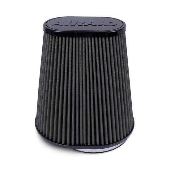 Airaid 722-127 SynthaMax Air Filter, Black, 9.5in Tall, Oval Tapered