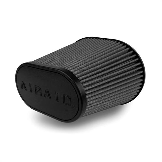 Airaid 722-479 SynthaMax Air Filter, Black, 7in Tall, Oval Tapered