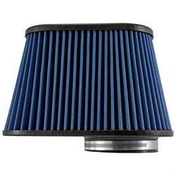 Airaid 723-128 Air Filter, Blue, 7.25in Tall, Oval Tapered