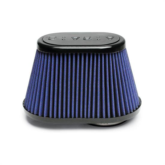Airaid 723-431 Air Filter, Blue, 5in Tall, Oval Tapered