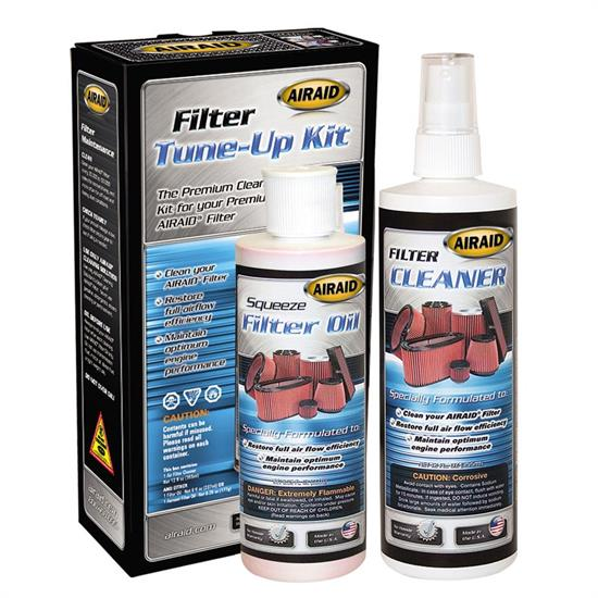 Airaid 790-550 Air Filter Cleaning Kit, 12 oz/8 oz Bottles