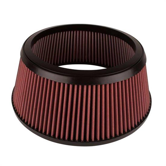 Airaid 801-462 Air Filter Assembly, Red, 5in Tall, Round Tapered