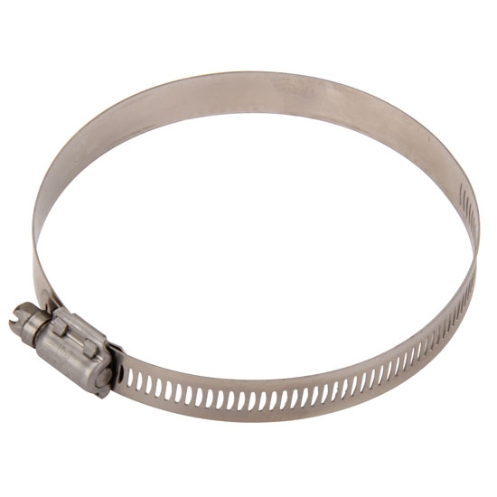 Airaid 9404 Hose Clamp, Stainless Steel, 3 - 3.875 Inch, Each