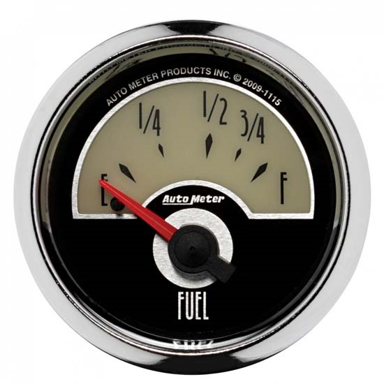 Auto Meter 1115 Cruiser Air-Core Fuel Level Gauge, 2-1/16 Inch