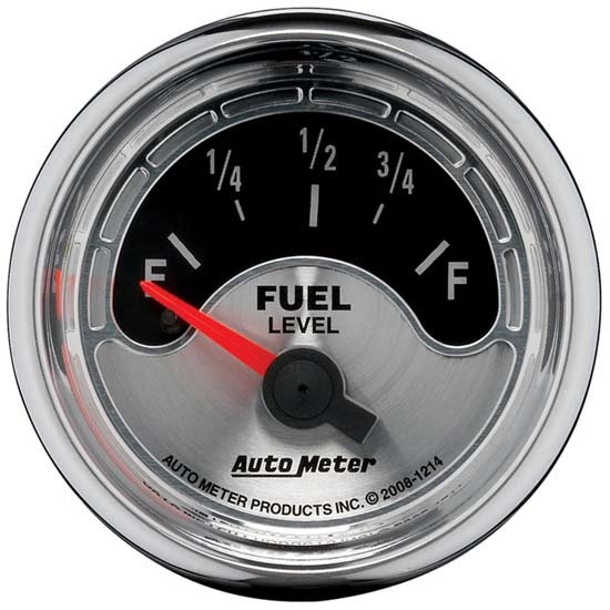 Auto Meter 1214 American Muscle Air-Core Fuel Level Gauge