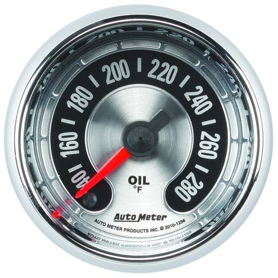 Auto Meter 1256 American Muscle Digital Stepper Motor Oil PSI Gauge