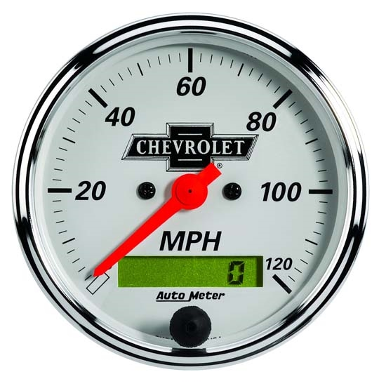 Auto Meter 1388-00408 Chevy Vintage Air-Core Speedometer Gauge