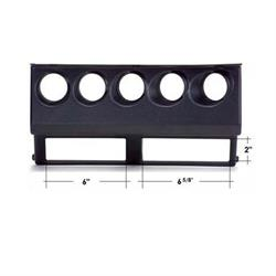 Auto Meter 15218 5-Gauge Direct Fit Dash Bezel Panel, Jeep Wrangler YJ