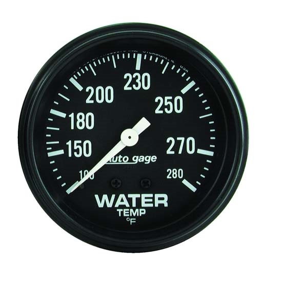 Auto Meter 2313 Auto Gage Mechanical Water Temperature Gauge