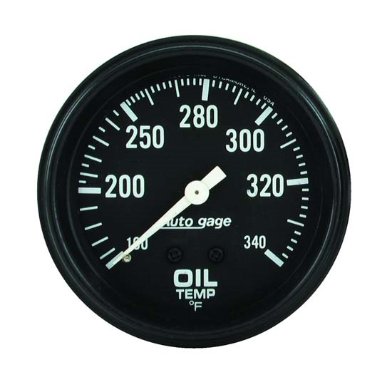 Auto Meter 2314 Auto Gage Mechanical Oil Temperature Gauge