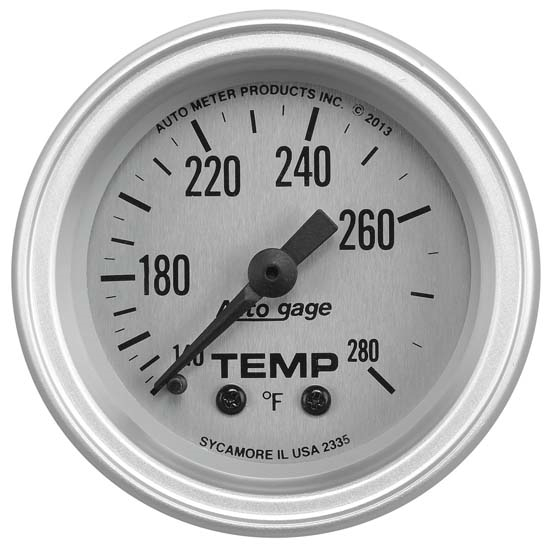 Auto Meter 2335 Auto Gage Mechanical Water Temperature Gauge