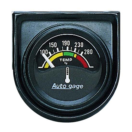 Auto Meter 2355 Auto Gage Air-Core Water Temperature Gauge