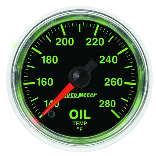Auto Meter 3856 GS Digital Stepper Motor Oil Temperature Gauge