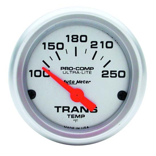 Auto Meter 4357 Ultra-Lite Air-Core Transmission Temperature Gauge
