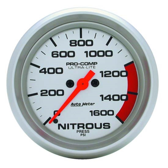 Auto Meter 4474 Ultra-Lite Digital Stepper Motor Nitrous Press Gauge