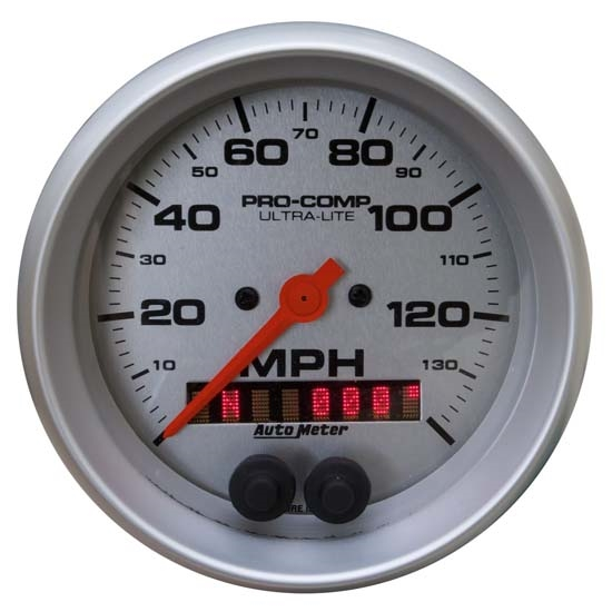 Auto Meter 4481 Ultra-Lite Air-Core GPS Speedometer, 140 MPH, 5 Inch