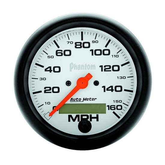 Auto Meter 5888 Phantom Air-Core Speedometer, 160 MPH, 3-3/8 Inch