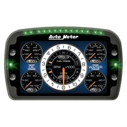 Auto Meter 6021 LCD Display 8.5 X 5.25 LCD Dash, User Configurable