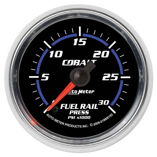 Auto Meter 6193 Cobalt Digital Stepper Motor Fuel Rail Pressure Gauge