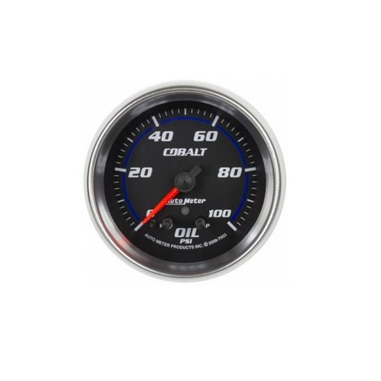 Auto Meter 7953 Cobalt Digital Stepper Motor Oil Pressure Gauge